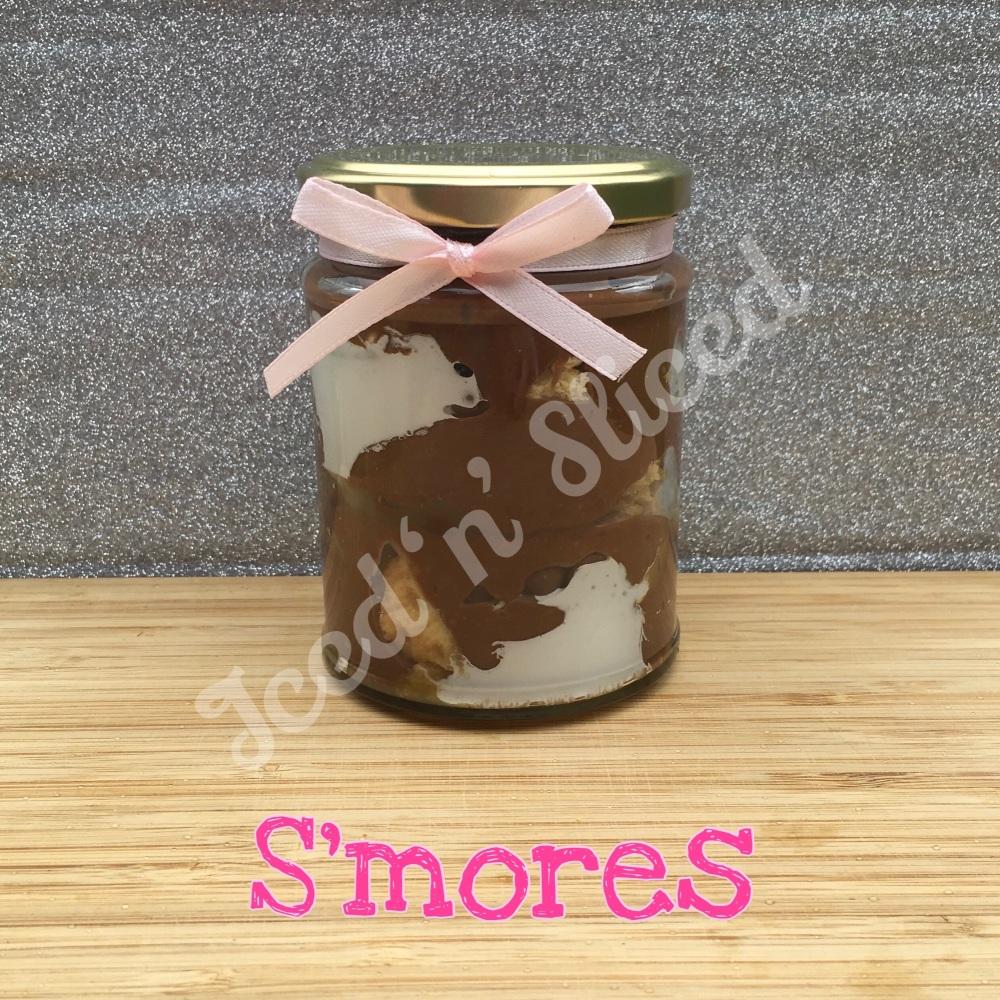 NEW S'mores little pot of fudge