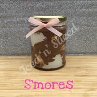 S'mores little pot of fudge