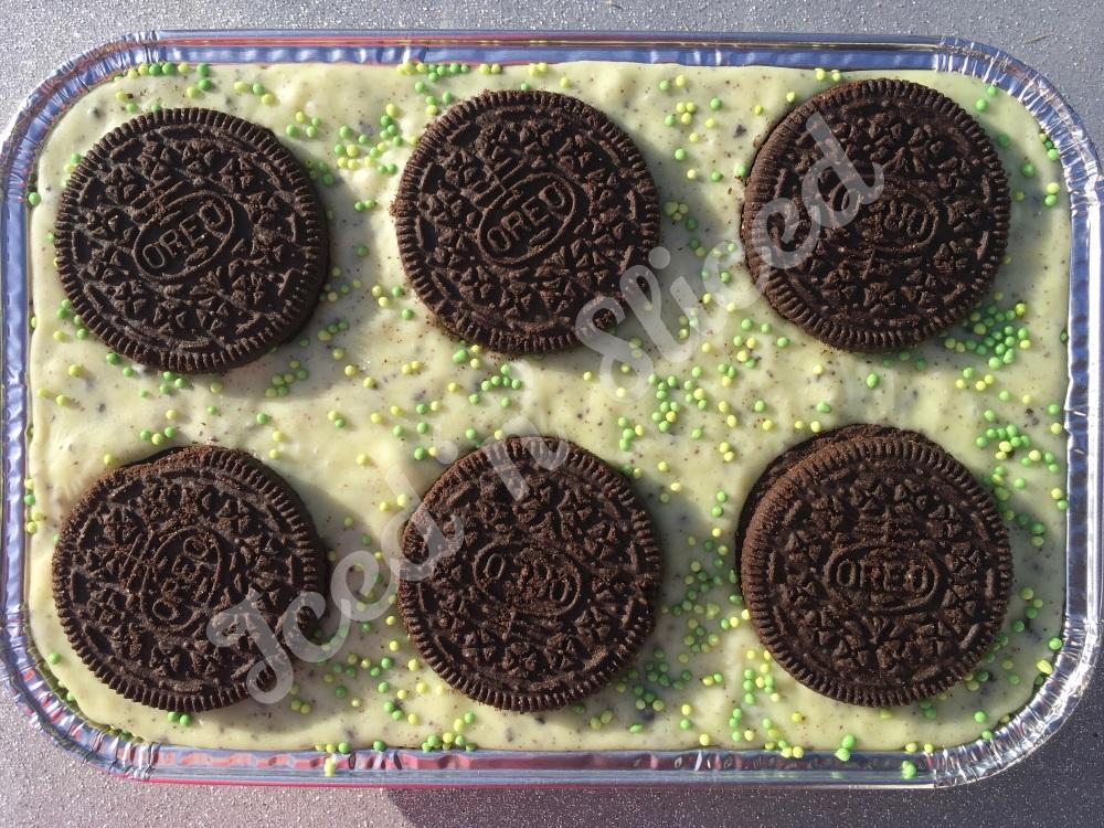NEW Mint Oreo fudge tray