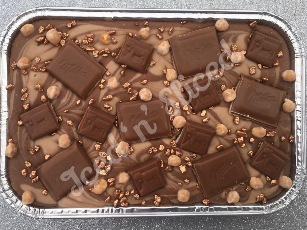 NEW Caramelo Milka fudge tray