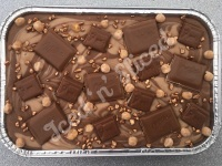 Caramelo Milka fudge tray