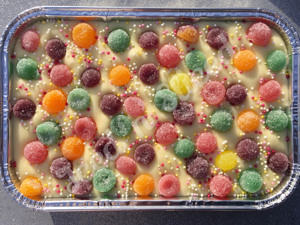 Jelly Tots fudge tray