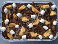 S'mores fudge tray
