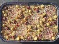 Vanilla Bean Sprinkles fudge tray
