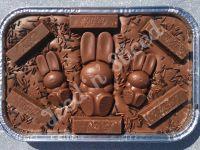 KitKat Bunny fudge tray