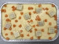 White Munchies fudge tray