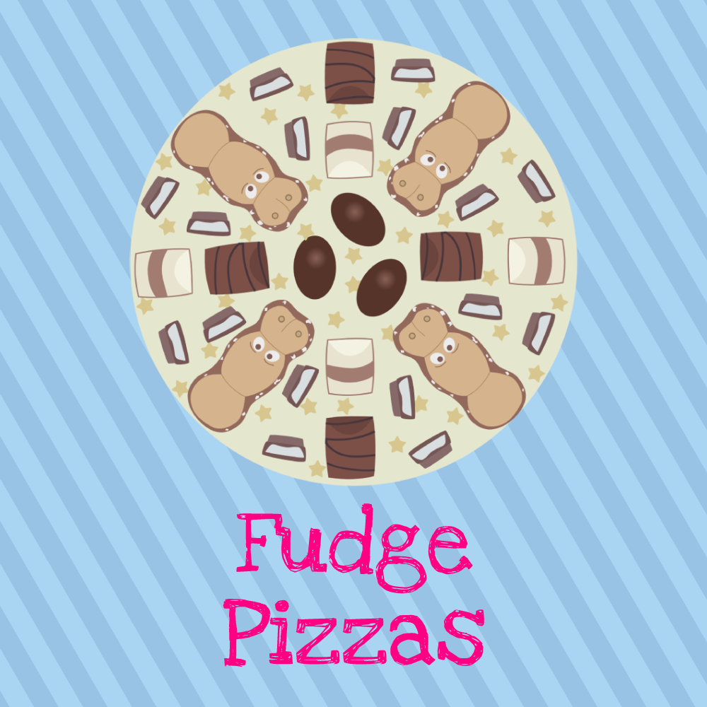 Fudge Pizza