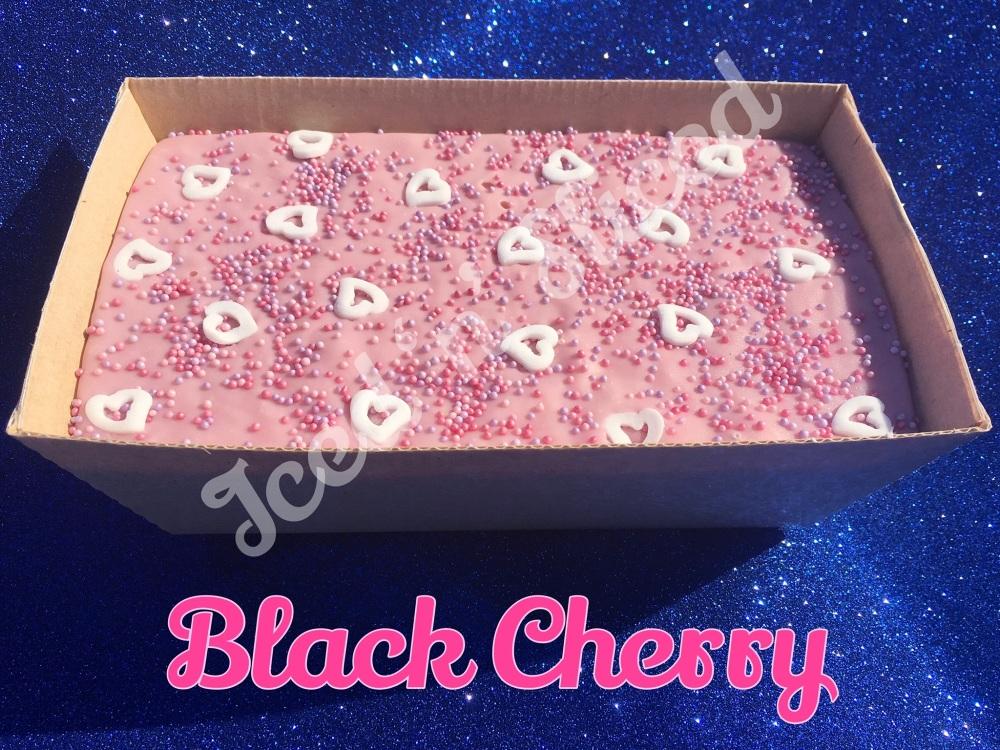 Black Cherry giant fudge loaf