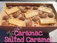 Caramac Salted Caramel giant fudge loaf