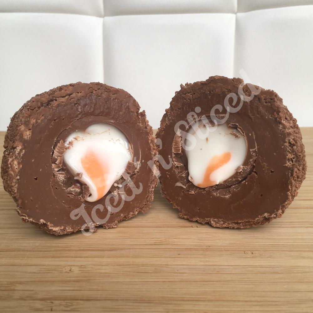 Creme Egg fudge scotch egg
