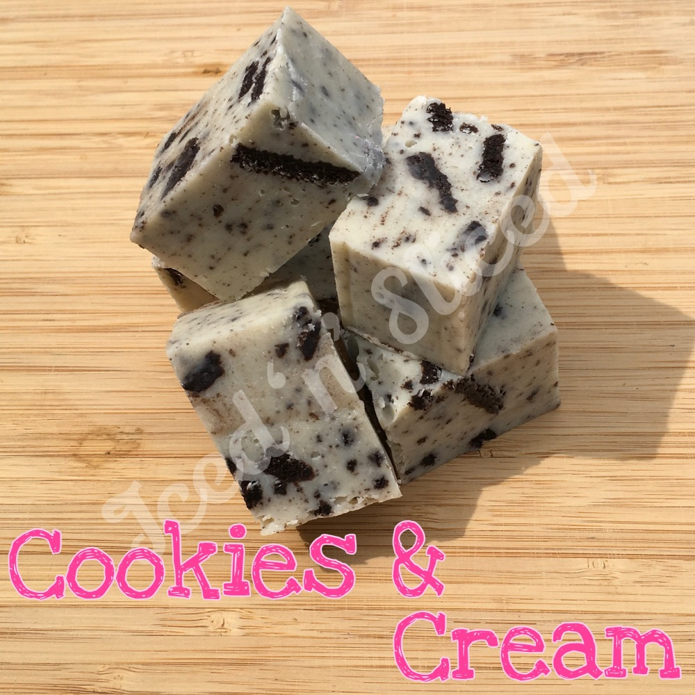 Cookies & Cream Fudge Pieces