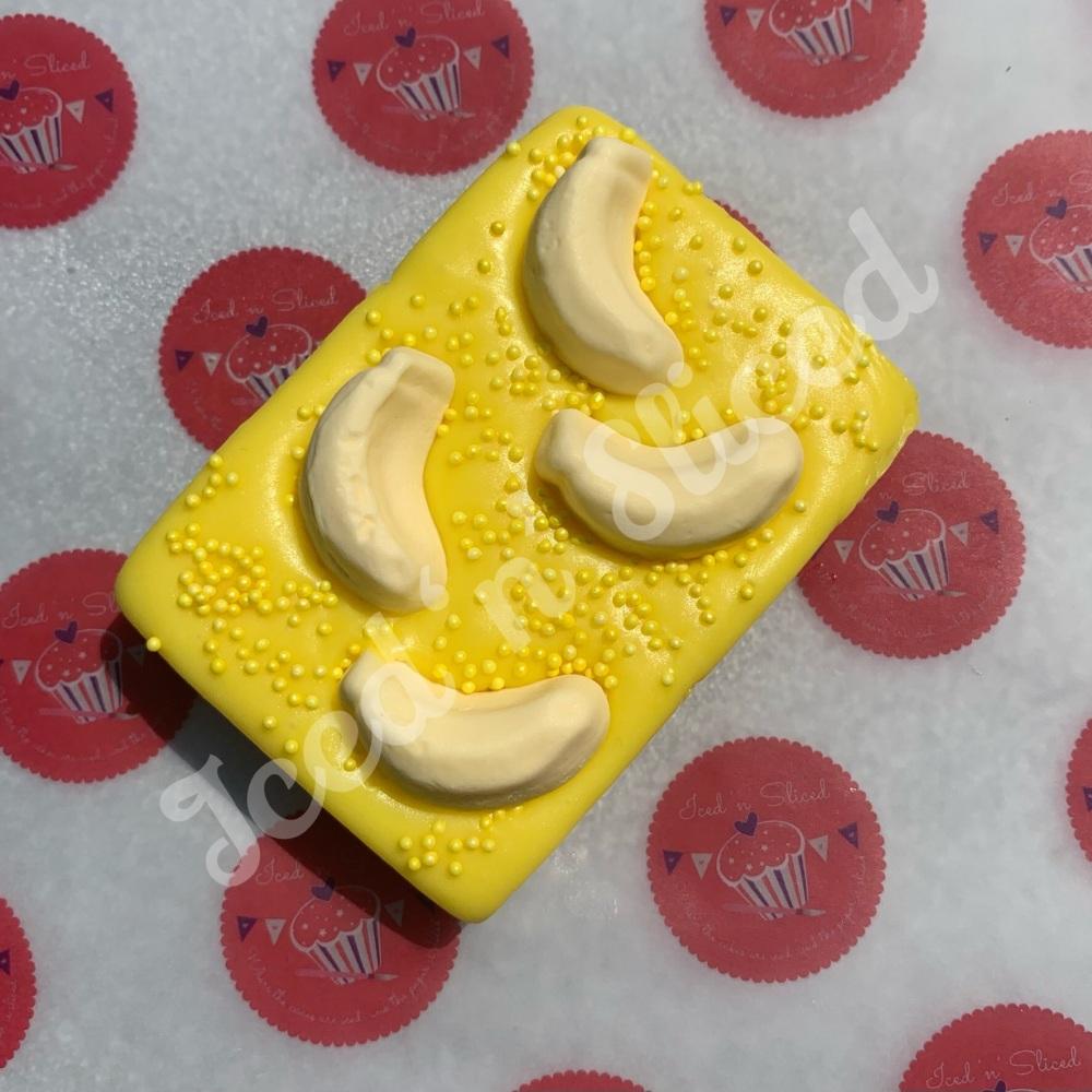 Banana Split Fudge Block