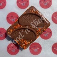 Chocolate Orange Fudge Block