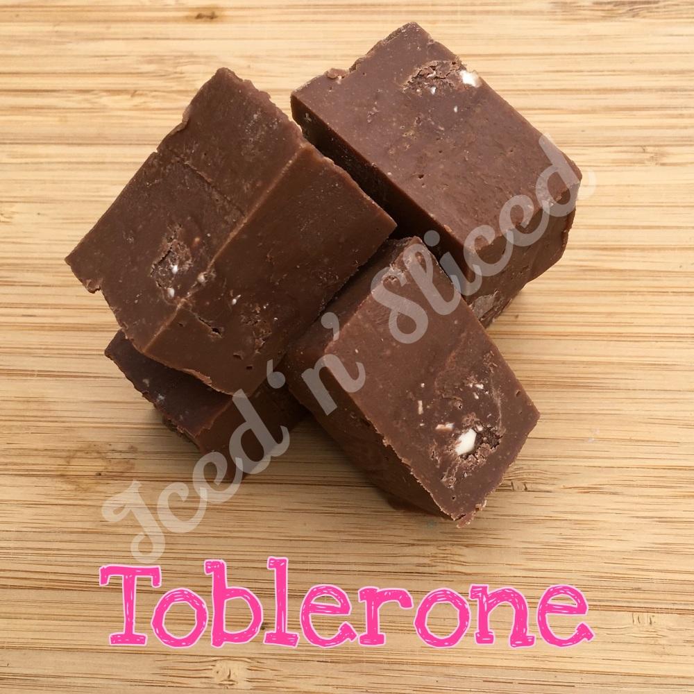 Toblerone fudge bar