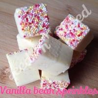 Vanilla Bean Sprinkles fudge bar