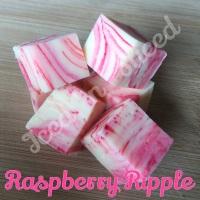 Raspberry Ripple fudge bar