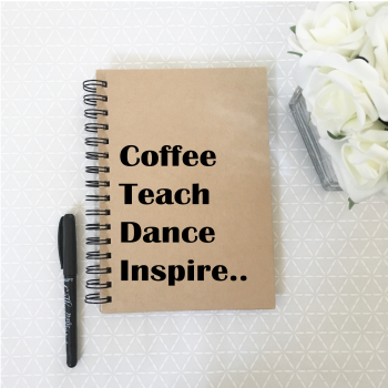 Dance teacher notebook
