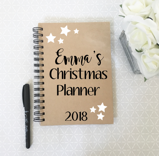 Personalised Christmas Planner