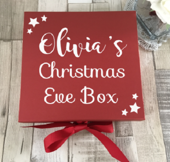 The Classic Red Christmas Eve Box