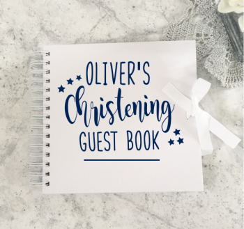 Christening Guestbook