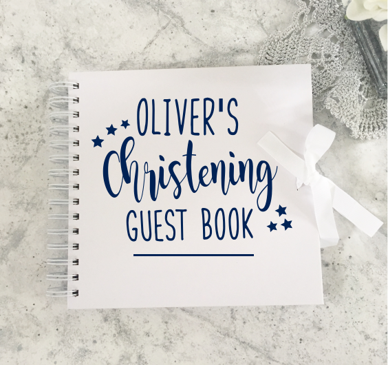 Christening Guestbook