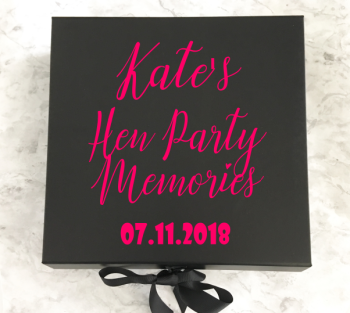 Hen Party Memory Box
