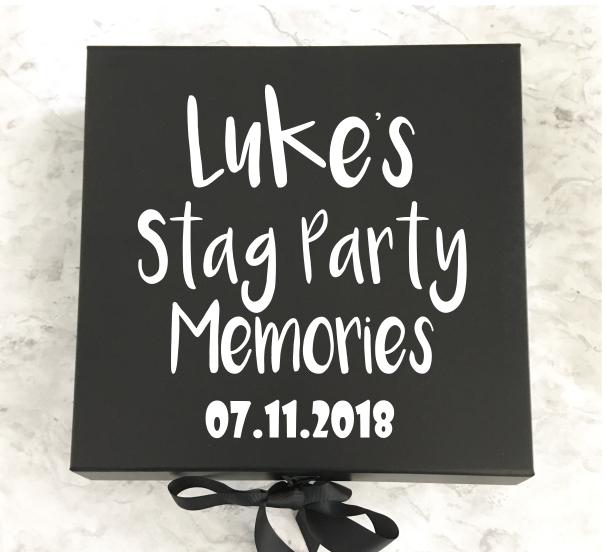 Stag Do Memory Box