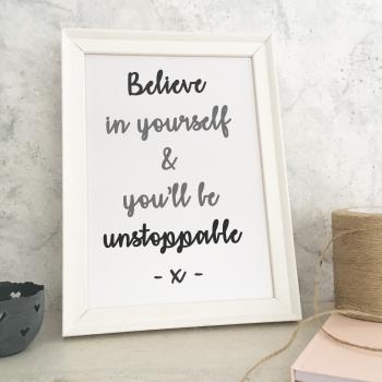 Believe Print