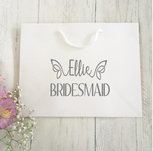 Personalised Bridal Gift Bag