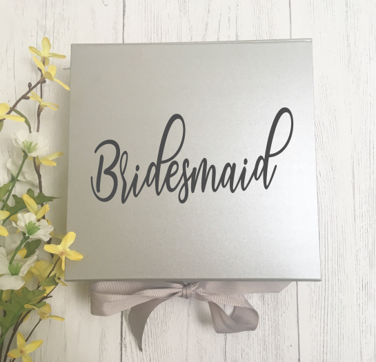 Medium Bridesmaid Gift Box