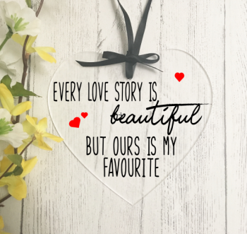 Every love story heart