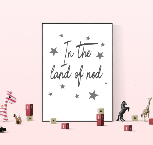 In The Land of Nod Bedroom Print