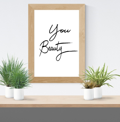 You Beauty Print