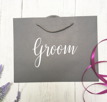 Groom Luxury Gift Bag