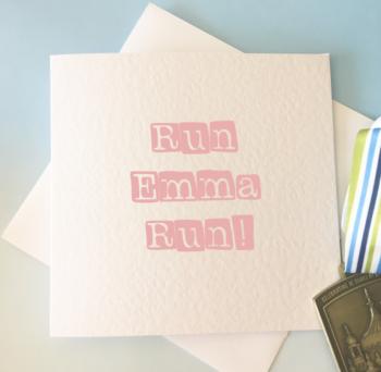 Run Run Card!