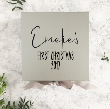 The 'Emelie' First Christmas Box