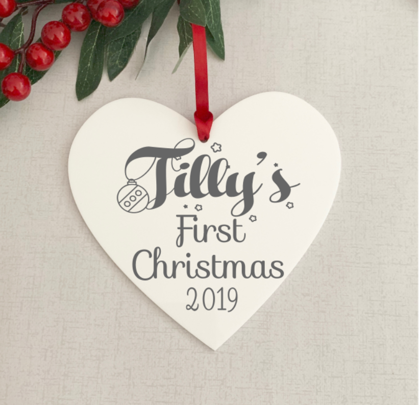 Baby First Christmas Decoration