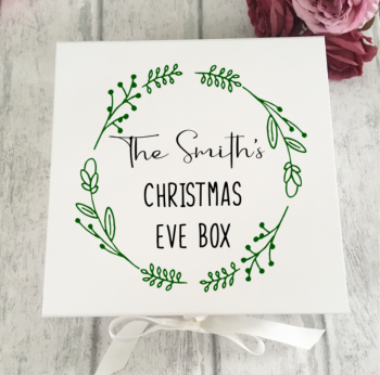 Family Mistletoe Christmas Eve Box