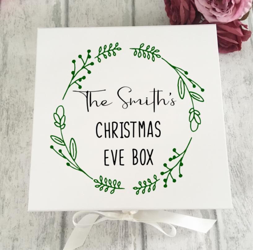 Family Mistletoe Christmas Eve Box