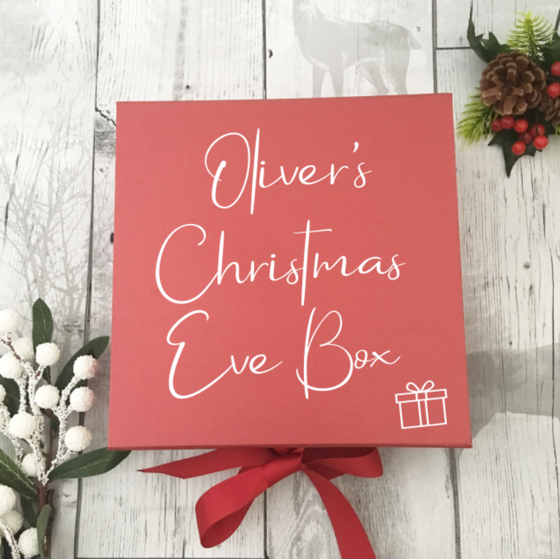 The 'Oliver' Red Christmas Eve Box