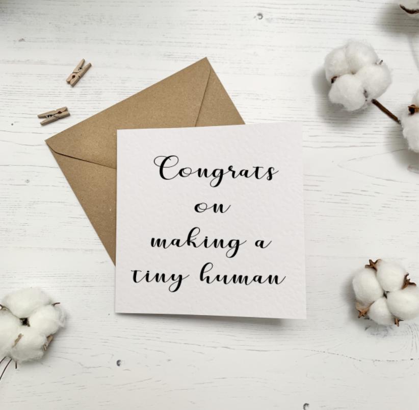 Tiny Human Card