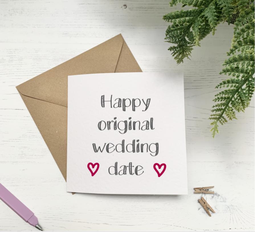 Happy Original Wedding Date