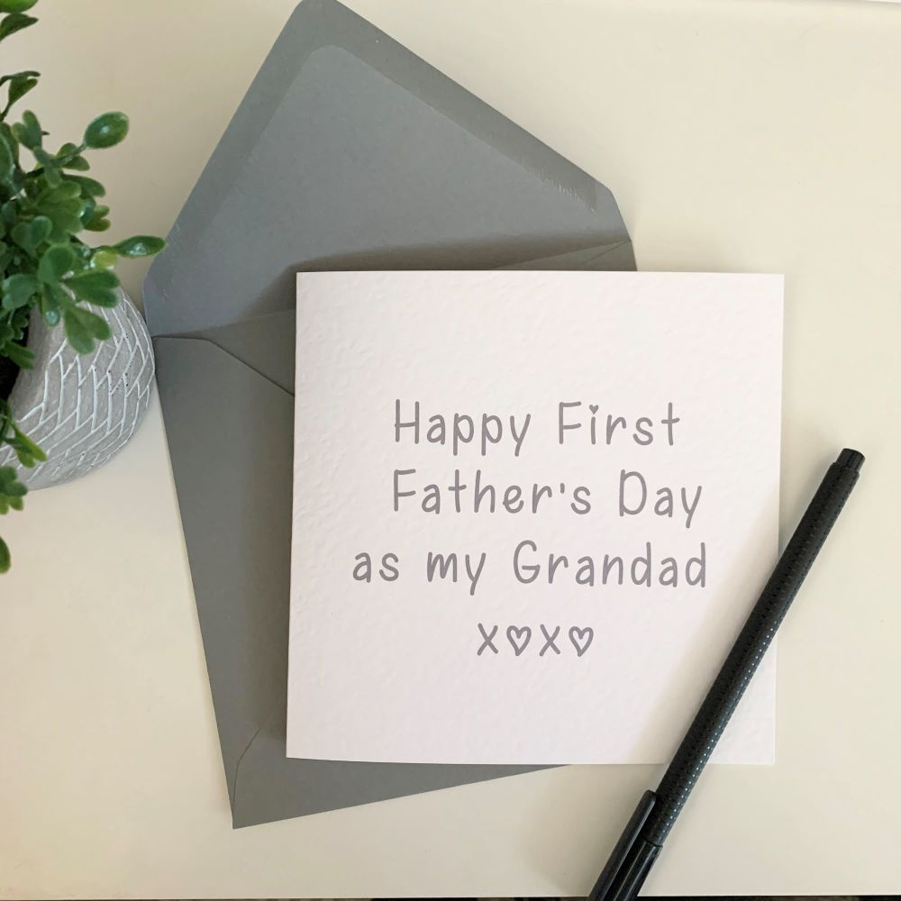 First Father's Day as Grandad