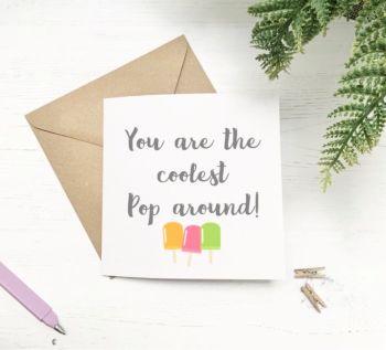 Coolest Pop Card