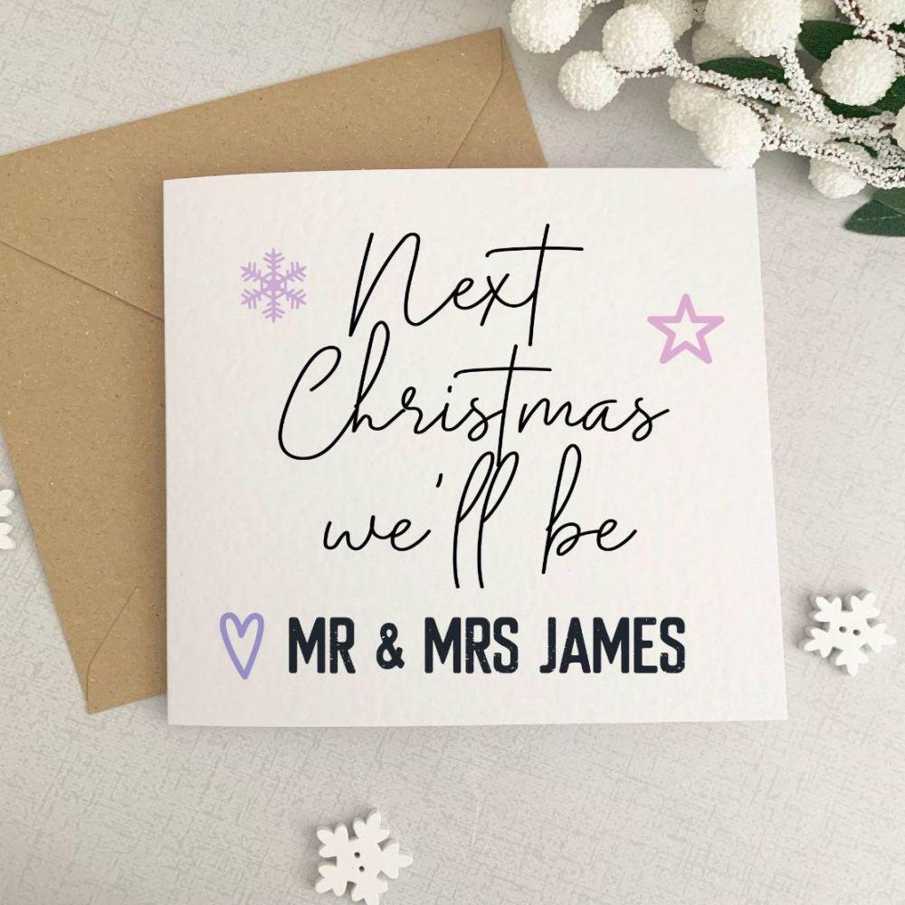 Last Christmas as Mr & Miss 2020