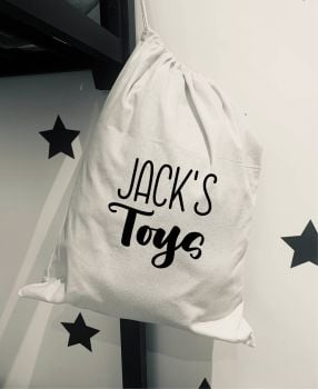 Personalised Toy Bag