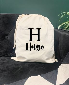 Hugo Drawstring Bag