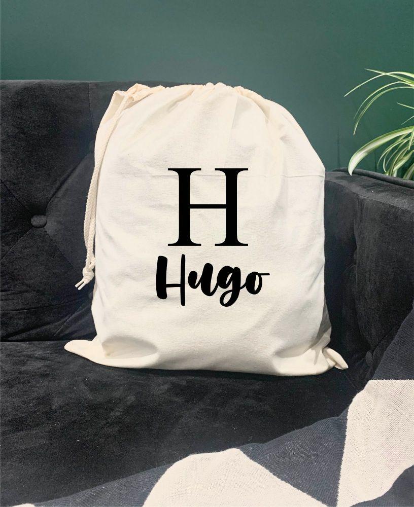 Hugo Drawstring Bag