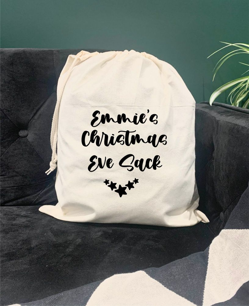 Christmas Eve Drawstring Bag