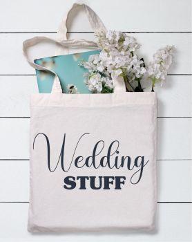 Wedding Stuff Tote